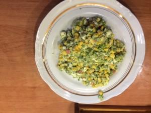 Sałatka z brokułem i Mozzarellą
