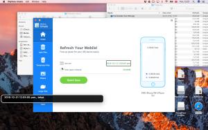 Zrzut ekranu okna głównego programu iMyFone Umate Pro